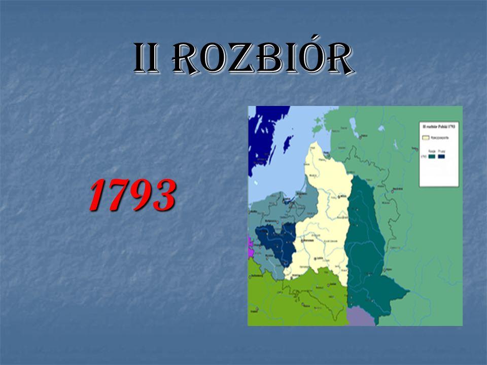 II ROZBIÓR 1793