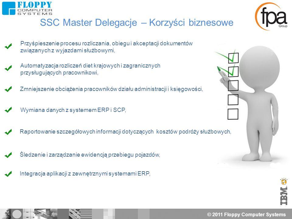 © 2011 Floppy Computer Systems Przyśpieszenie procesu rozliczania, obiegu i akceptacji dokumentów związanych z wyjazdami służbowymi, Automatyzacja roz