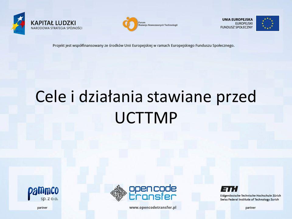 Cele i działania stawiane przed UCTTMP