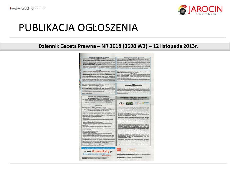 10.10.2020_jarocin Dziennik Gazeta Prawna – NR 2018 (3608 W2) – 12 listopada 2013r.