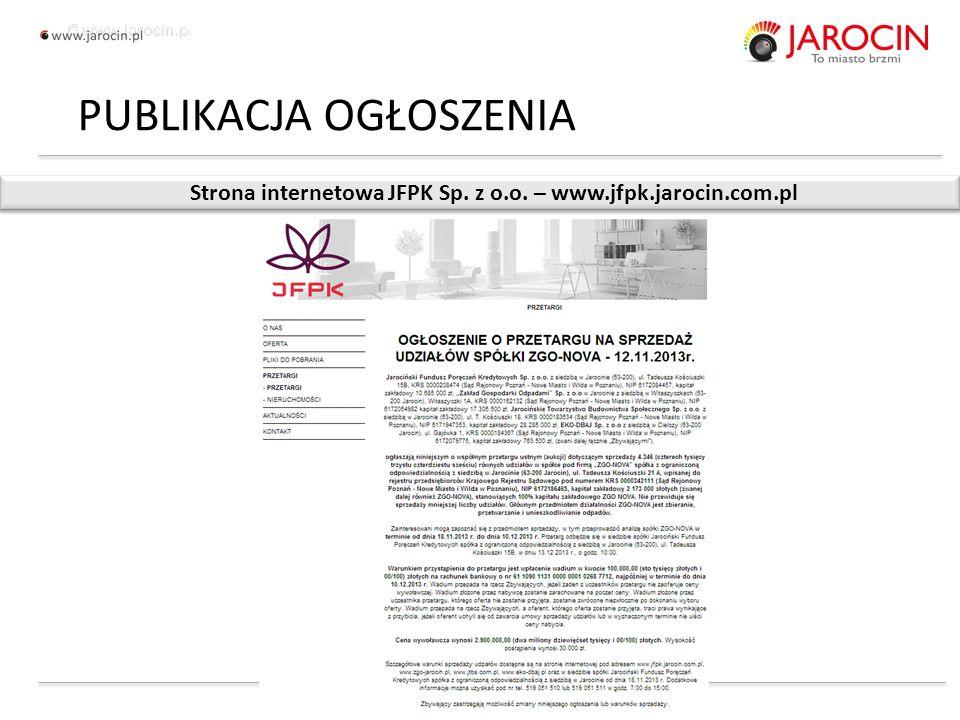 10.10.2020_jarocin Strona internetowa JFPK Sp. z o.o.