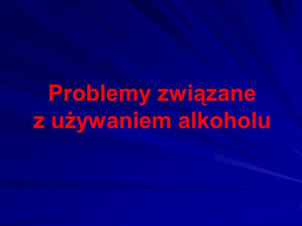 Problemy związane z używaniem alkoholu