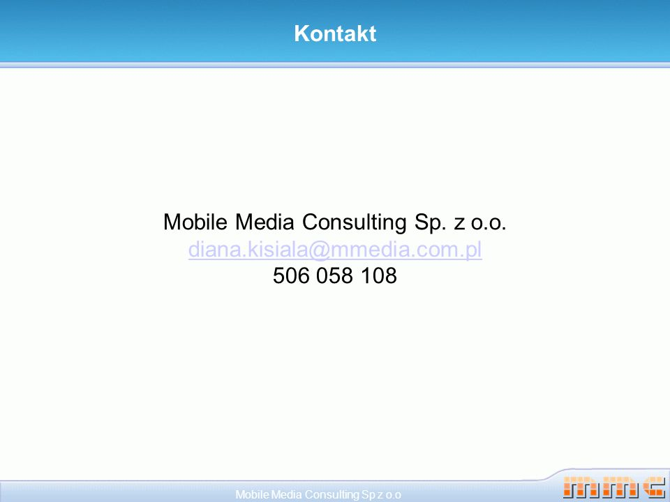 Mobile Media Consulting Sp. z o.o.