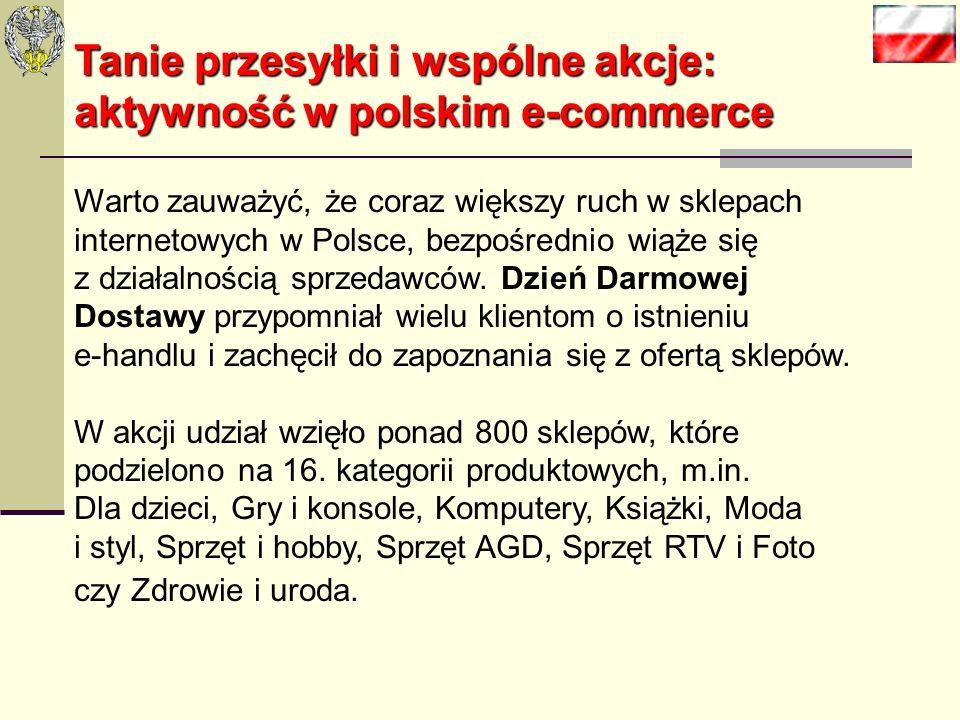 Według Euromonitora, e-commerce w Polsce szybko się rozwija, ale wciąż zostajemy daleko w tyle za Wielką Brytanią (52,1 mld euro), Niemcami (39,2 mld