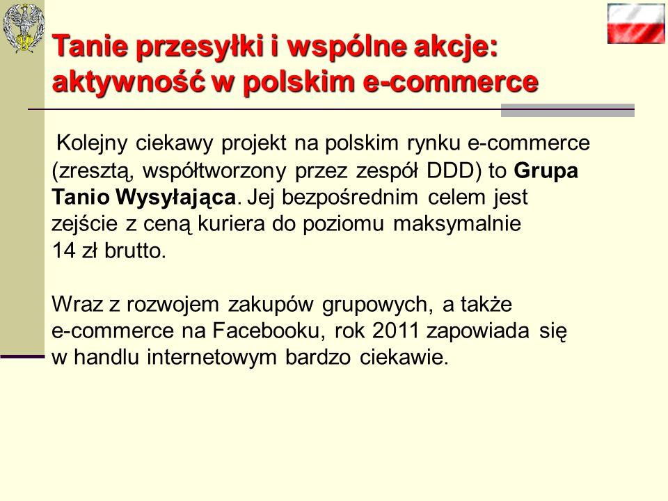 Tanie przesyłki i wspólne akcje: aktywność w polskim e-commerce Tanie przesyłki i wspólne akcje: aktywność w polskim e-commerce Warto zauważyć, że cor