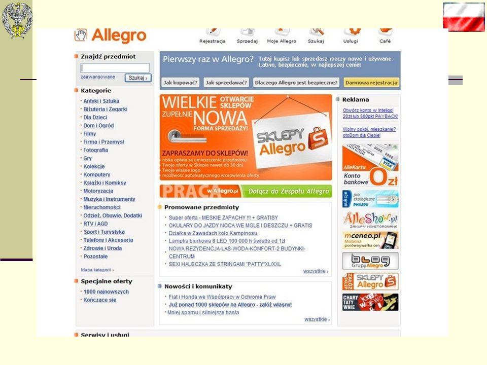 Tworzymy sklep internetowy Jeśli prowadzimy zarejestrowaną działalność gospodarczą, a na Allegro chcemy występować jako solidny i wiarygodny partner w