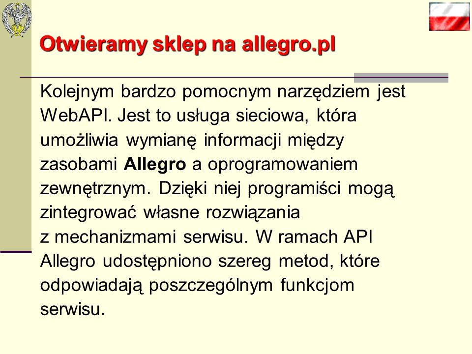 Otwieramy sklep na allegro.pl - dzielenie transakcji ze względu na rodzaj zapłaty i stopień finalizacji, przygotowanie wydruków dokumentów ułatwiający