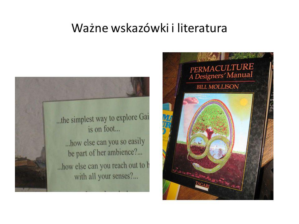 Ważne wskazówki i literatura