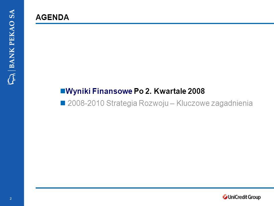 Stopka prezentacji 2 AGENDA Wyniki Finansowe Po 2.