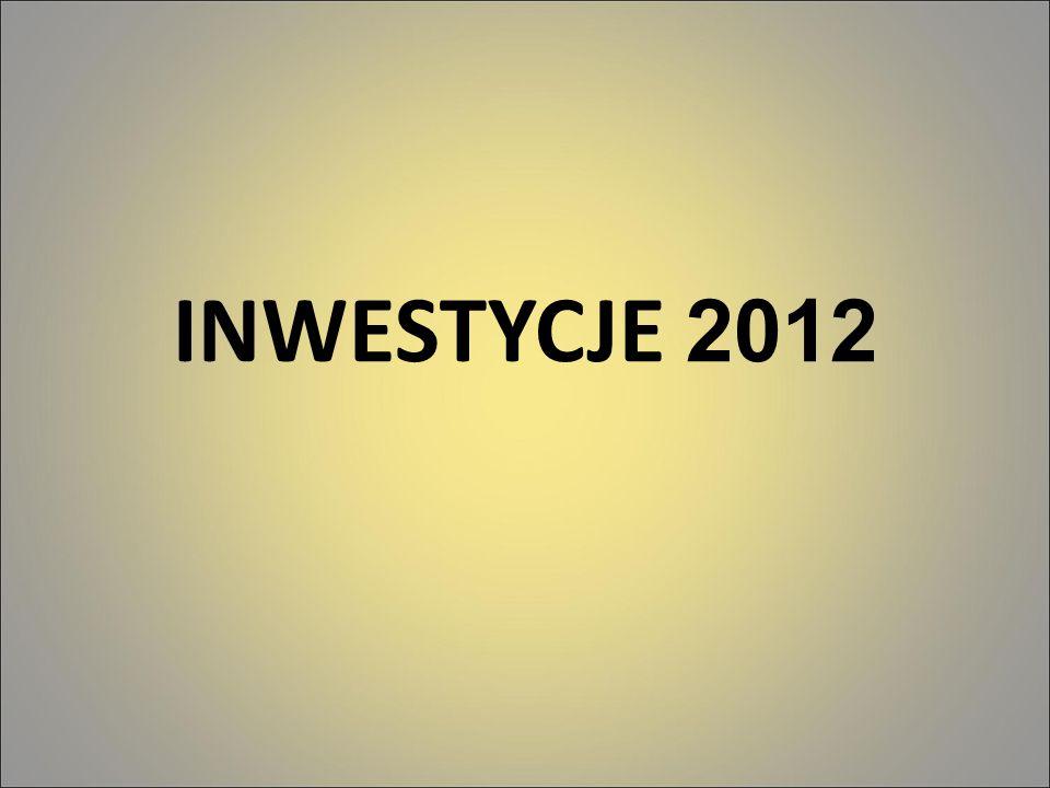 INWESTYCJE 2012