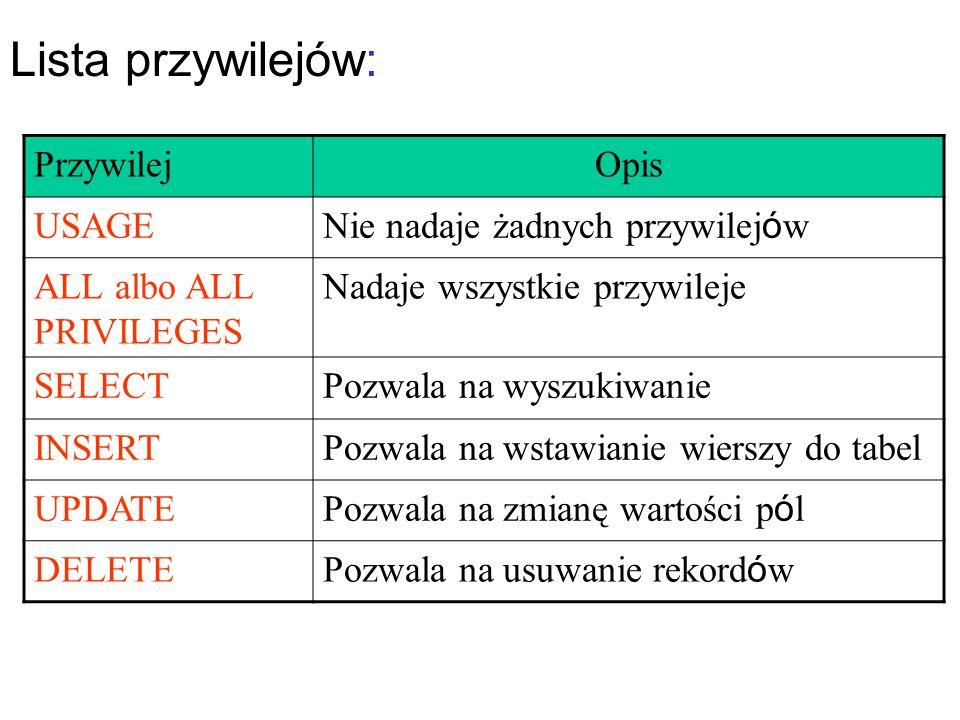 Formularz – tablice $_POST lub $_GET <?php $x1=100; $x2=200; ?> POST ze skryptami PHP wstawiającym wartość zmiennej x1 a x2 przez ukryte pole > plik wynik_form.php <?php echo $_POST[ pierwsza ]; echo $_POST[ druga ]; ?>