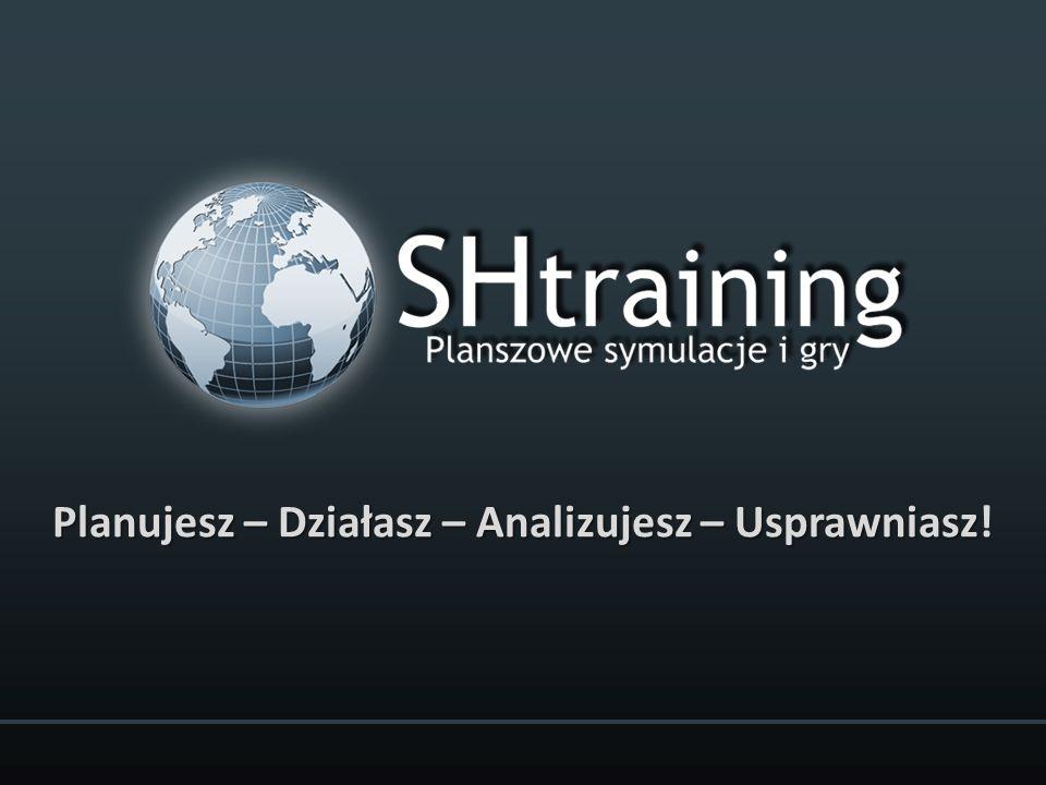 Cele prezentacji: Zapoznanie z firmą SHtraining Zapewniamy przewagę Planszowe Symulacje Biznesu i Gry Strategiczne, Gry Szkoleniowe Odpowiedzi na pytania uczestników SHtraining wyłączny przedstawiciel BTI GmbH w Polsce - europejskiego lidera na rynku planszowych symulacji biznesowych i gier strategicznych