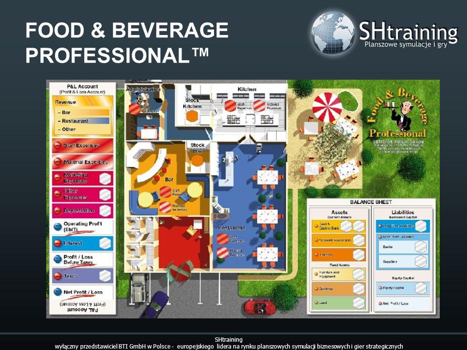 FOOD & BEVERAGE PROFESSIONAL SHtraining wyłączny przedstawiciel BTI GmbH w Polsce - europejskiego lidera na rynku planszowych symulacji biznesowych i