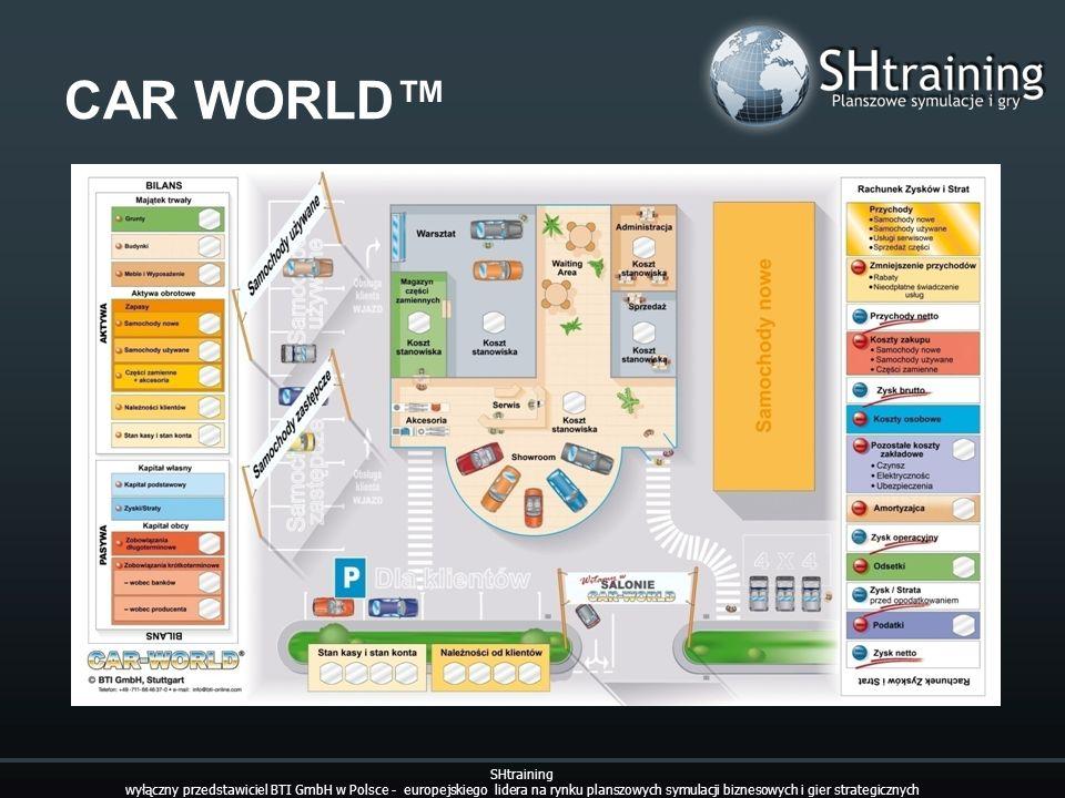 CAR WORLD SHtraining wyłączny przedstawiciel BTI GmbH w Polsce - europejskiego lidera na rynku planszowych symulacji biznesowych i gier strategicznych
