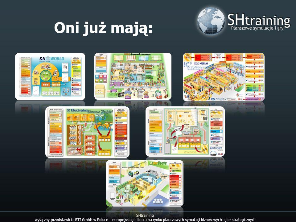 Oni już mają: SHtraining wyłączny przedstawiciel BTI GmbH w Polsce - europejskiego lidera na rynku planszowych symulacji biznesowych i gier strategicz