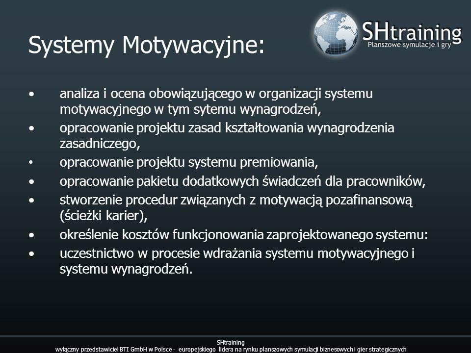 Systemy Motywacyjne: analiza i ocena obowiązującego w organizacji systemu motywacyjnego w tym sytemu wynagrodzeń, opracowanie projektu zasad kształtow