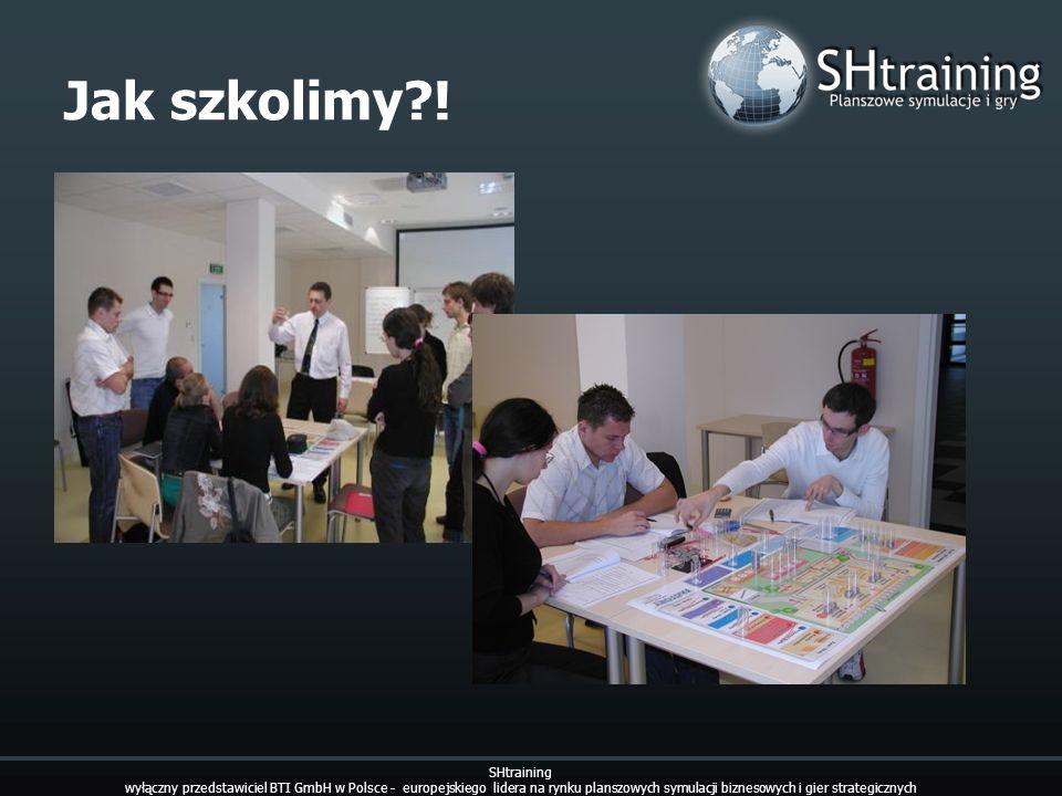 Jak szkolimy?! SHtraining wyłączny przedstawiciel BTI GmbH w Polsce - europejskiego lidera na rynku planszowych symulacji biznesowych i gier strategic