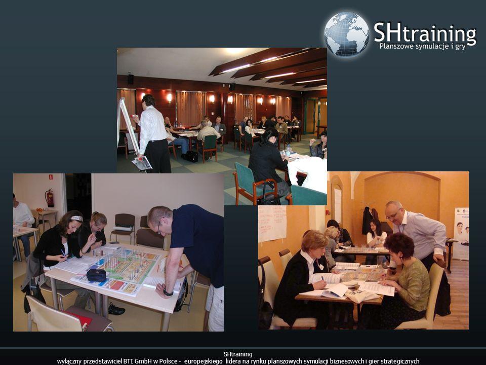 SHtraining wyłączny przedstawiciel BTI GmbH w Polsce - europejskiego lidera na rynku planszowych symulacji biznesowych i gier strategicznych