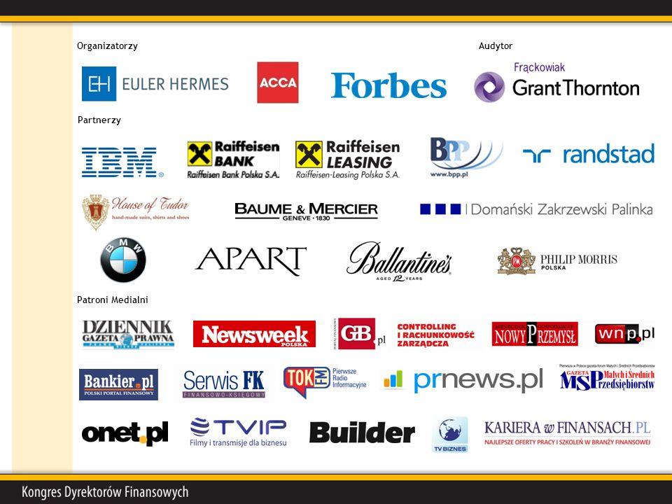Patroni Medialni OrganizatorzyAudytor Partnerzy