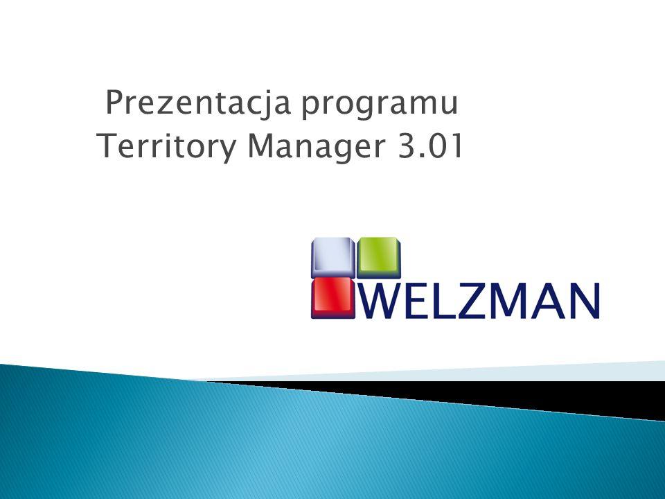 Program Territory Manager (TM) służy do Projektowania Struktur Terytorialnych (PST) oraz do Terytorialnej Analizy Danych (TAD).