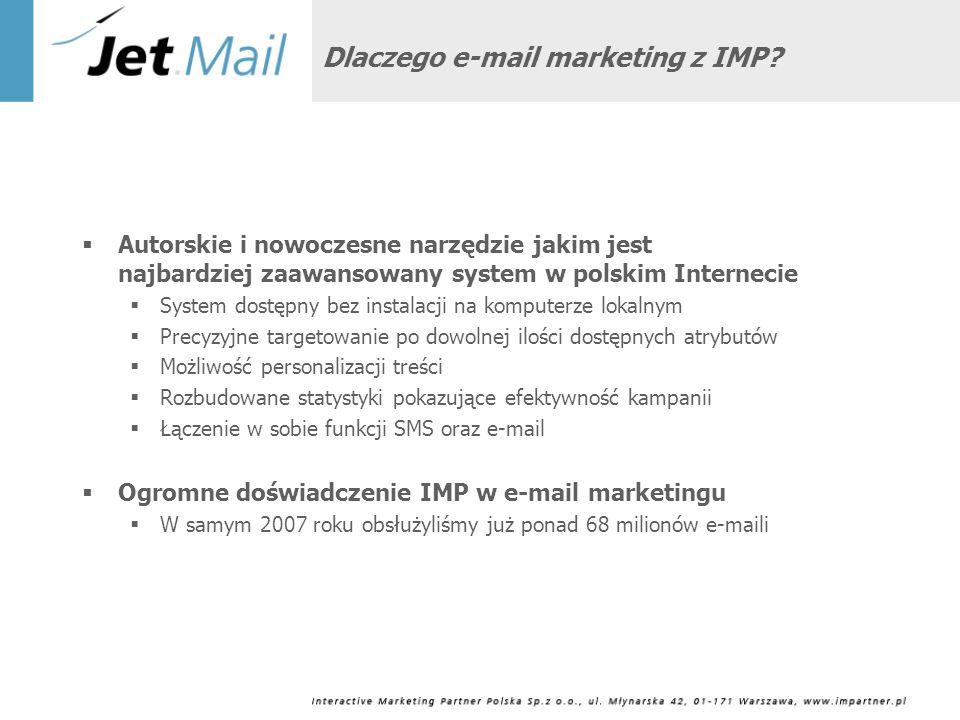Filozofia kampanii w Internecie Pozyskanie bazy klientów E-mail SMS Call Center Infolinia Kampania reklamowa Własna strona www – sprzedaż online Działalność akwizycyjna własna Advergaming Programy lojalnościowe Marketing wirusowy Call Center Pozycjonowanie strony www Wyszukiwarki Sprzedaż Produkt