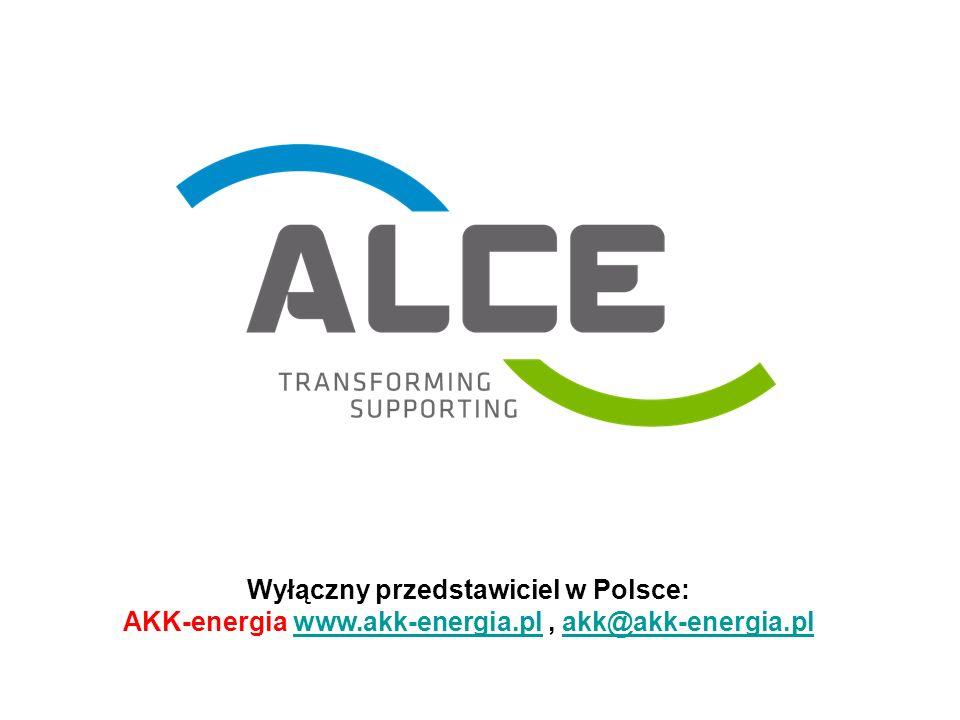 Główne fakty 1968: utworzenie ALCE Elektrik Ltd.