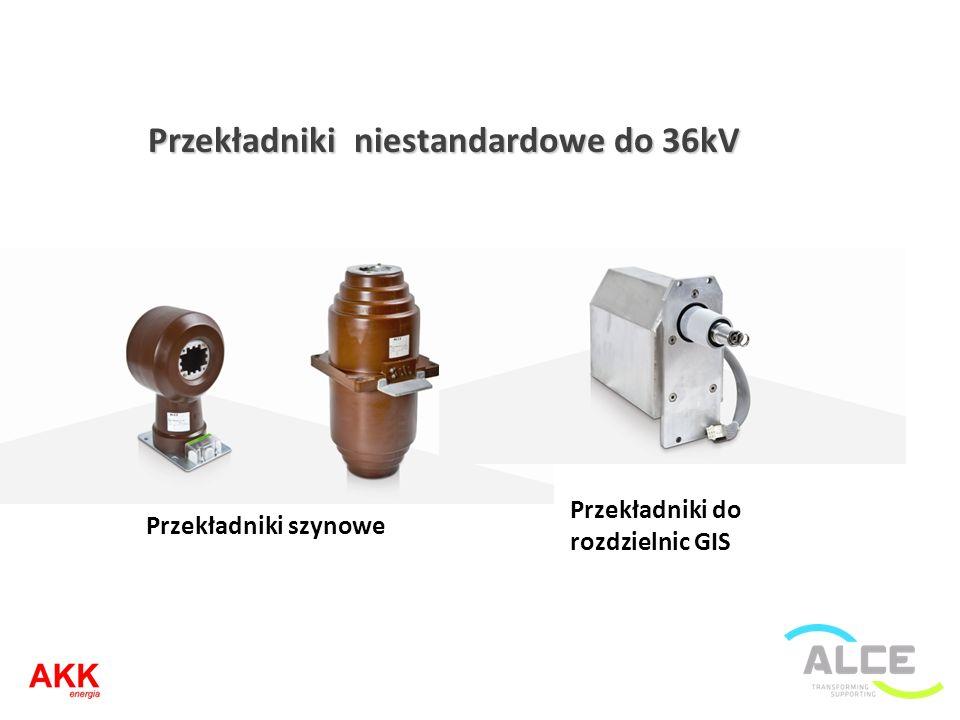 Przekładniki niestandardowe do 36kV Przekładniki szynowe Przekładniki do rozdzielnic GIS