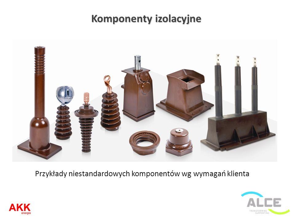 Komponenty izolacyjne Przykłady niestandardowych komponentów wg wymagań klienta