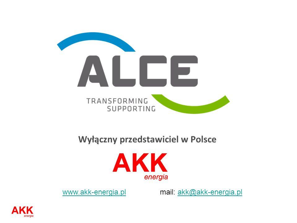 Wyłączny przedstawiciel w Polsce www.akk-energia.plwww.akk-energia.pl mail: akk@akk-energia.plakk@akk-energia.pl