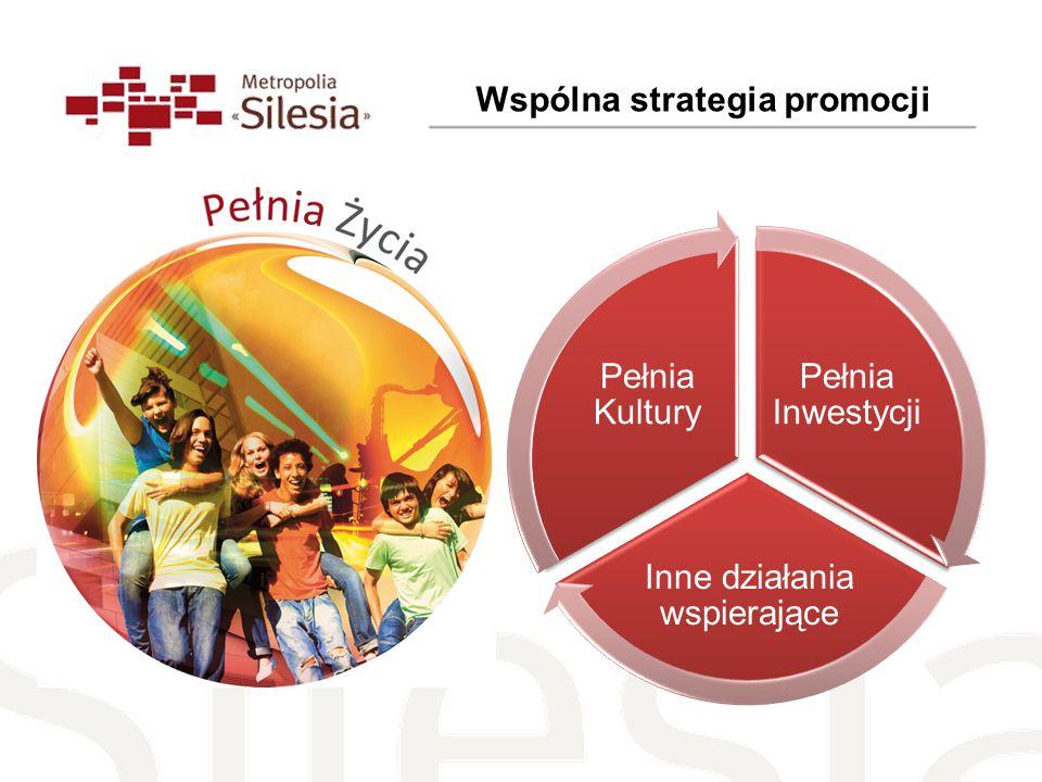 Wspólna strategia promocji Pełnia Inwestycji Inne działania wspierające Pełnia Kultury