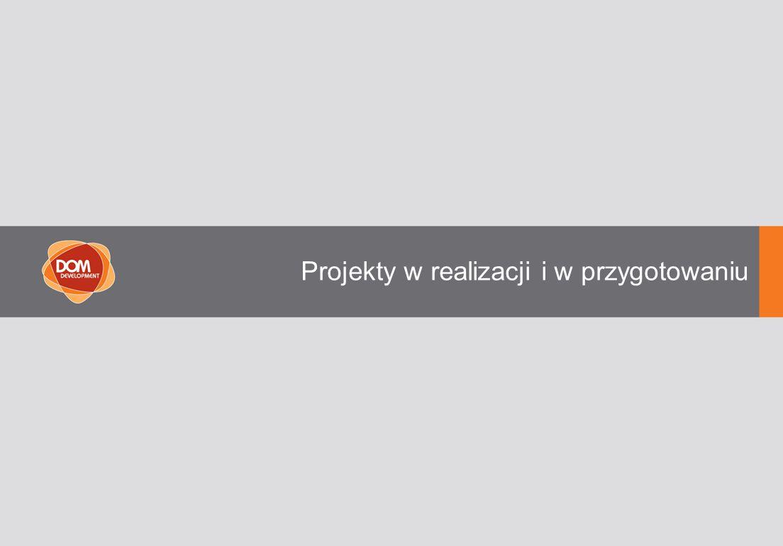 Projekty w realizacji i w przygotowaniu
