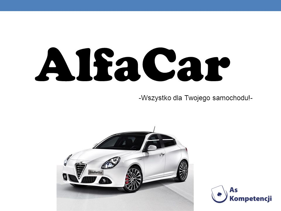 AlfaCar -Wszystko dla Twojego samochodu!-