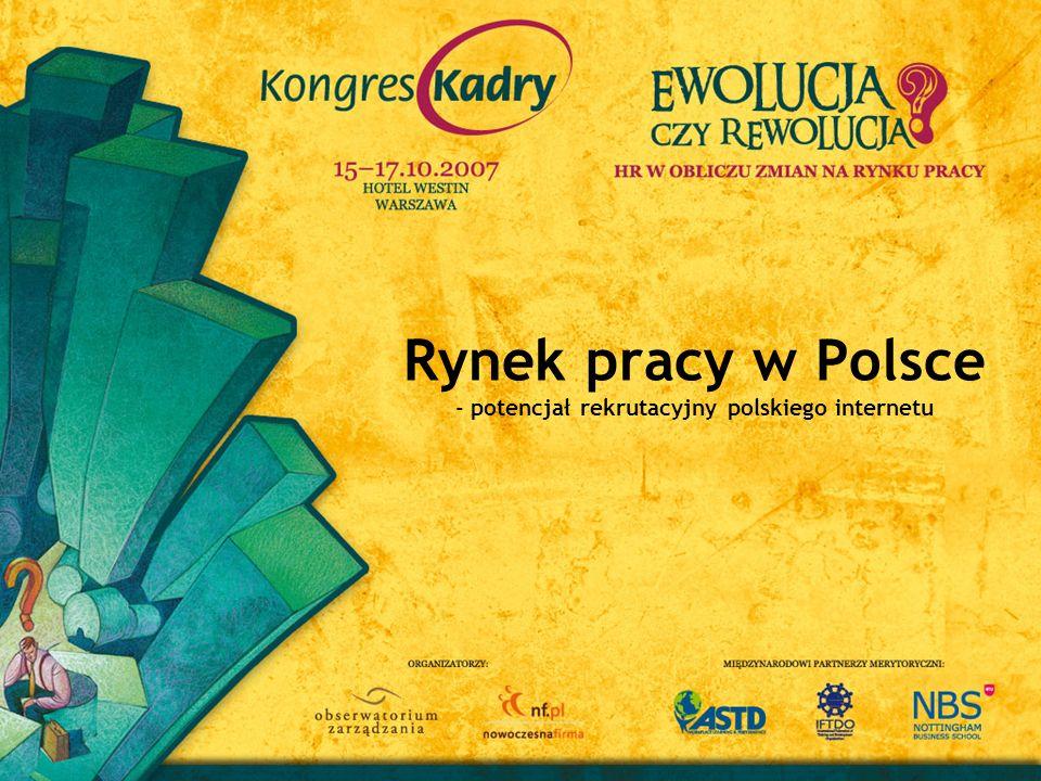 Polski rynek pracy to rynek kilku prędkości Największe zapotrzebowanie na pracowników jest w sektorze handlu i sprzedaży Najbardziej poszukiwani są specjaliści niższego szczebla, bez wymaganego wyższego wykształcenia Badanie rynku pracy jest barometrem rozwoju gospodarczego Polski Podsumowując Raport ekspercki
