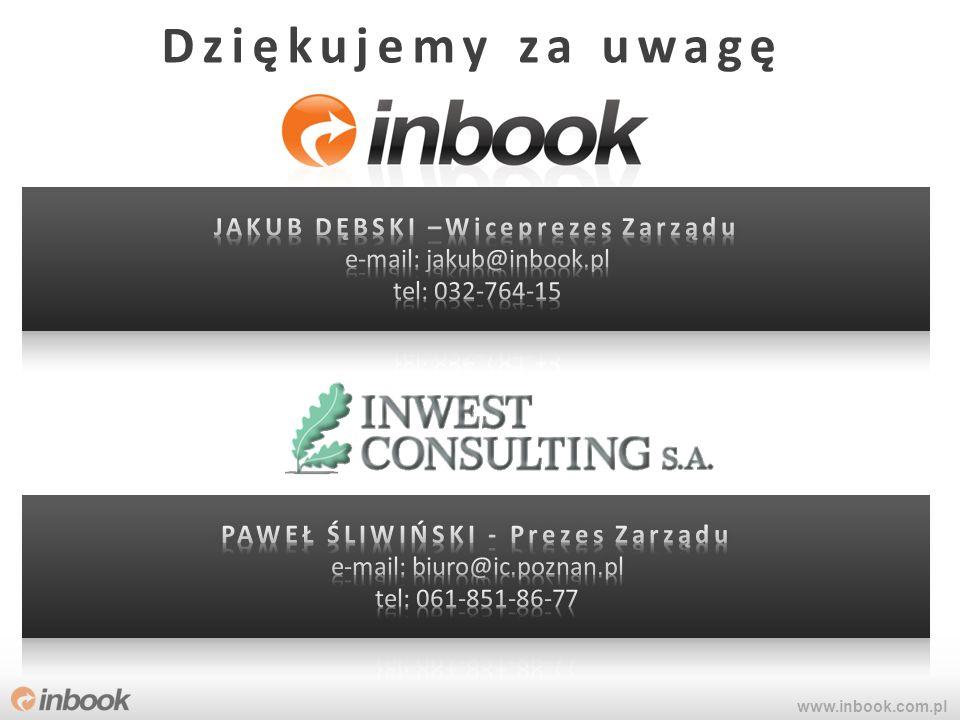 www.inbook.com.pl Dziękujemy za uwagę
