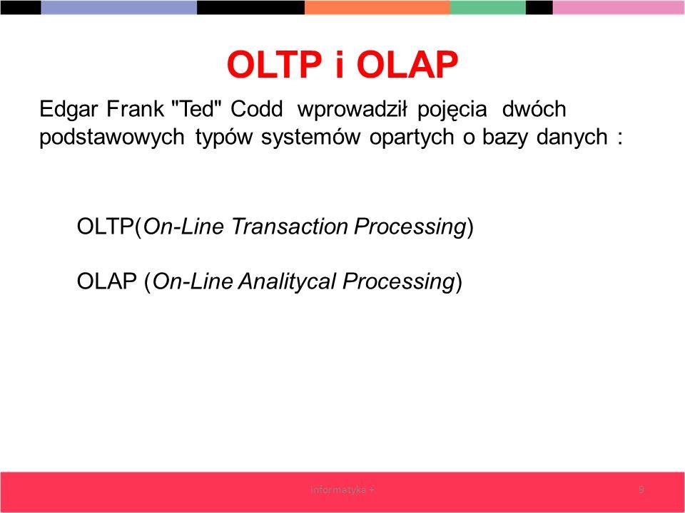 OLTP i OLAP informatyka +9 Edgar Frank
