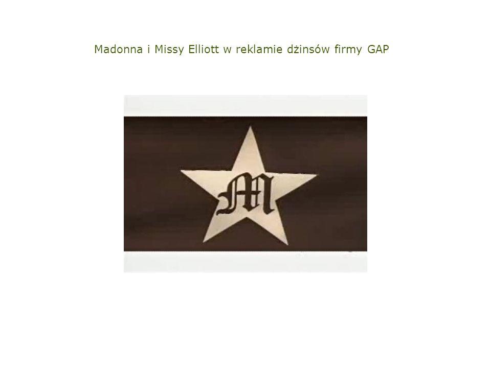 Madonna i Missy Elliott w reklamie dżinsów firmy GAP