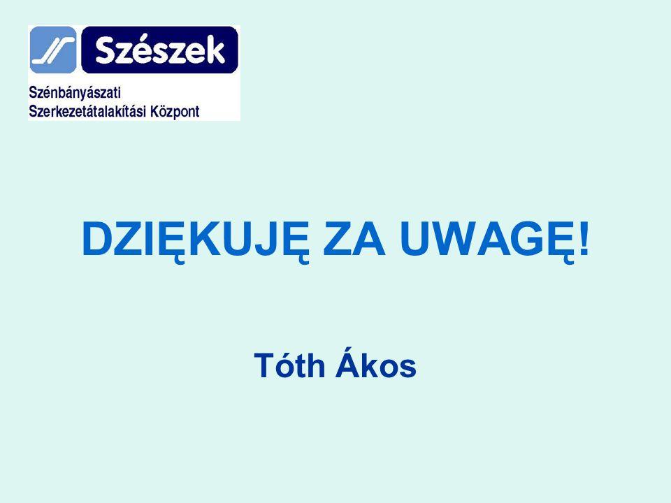 DZIĘKUJĘ ZA UWAGĘ! Tóth Ákos