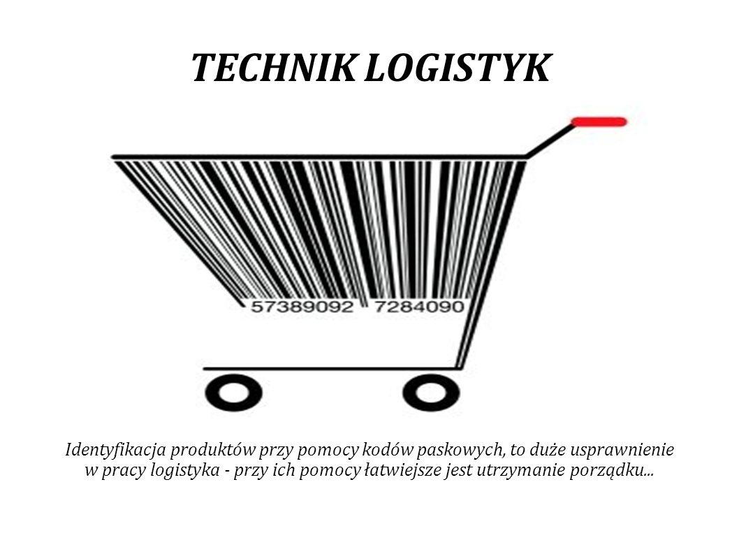 TECHNIK LOGISTYK Aby zapewnić szybki i poprawny obieg informacji między poszczególnymi ogniwami systemu operacyjnego, operator logistyczny musi zastosować odpowiednie technologie informatyczne.