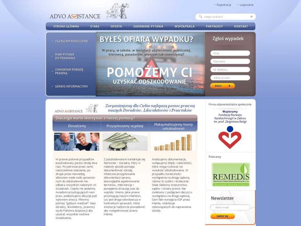 Firma Serwis ADVO ASSISTANCE Kancelarii Doradztwa Finansowego Sp.