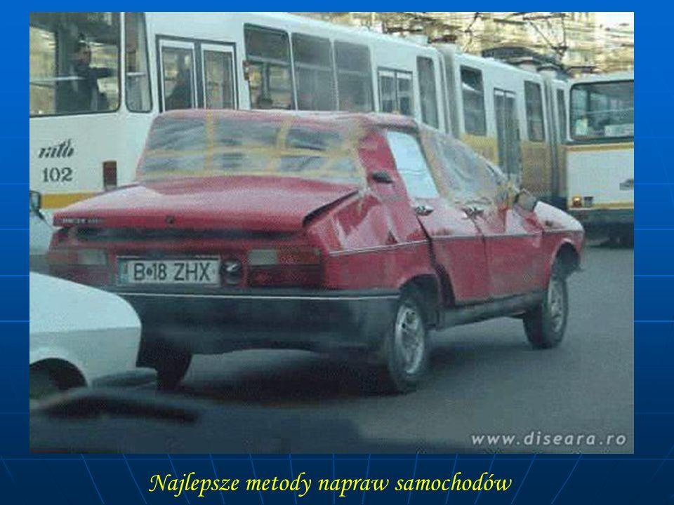 Najlepsze metody napraw samochodów