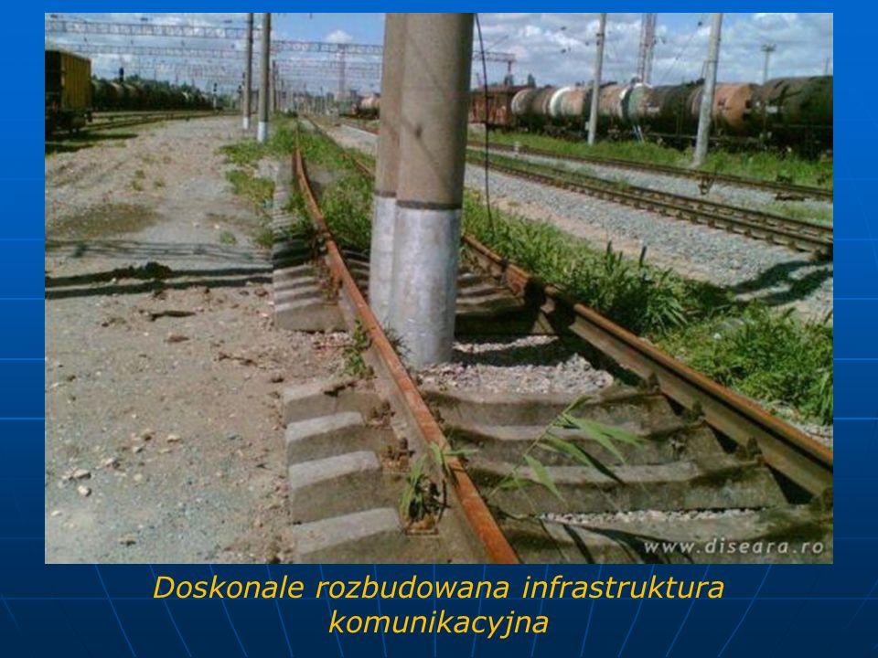 Doskonale rozbudowana infrastruktura komunikacyjna