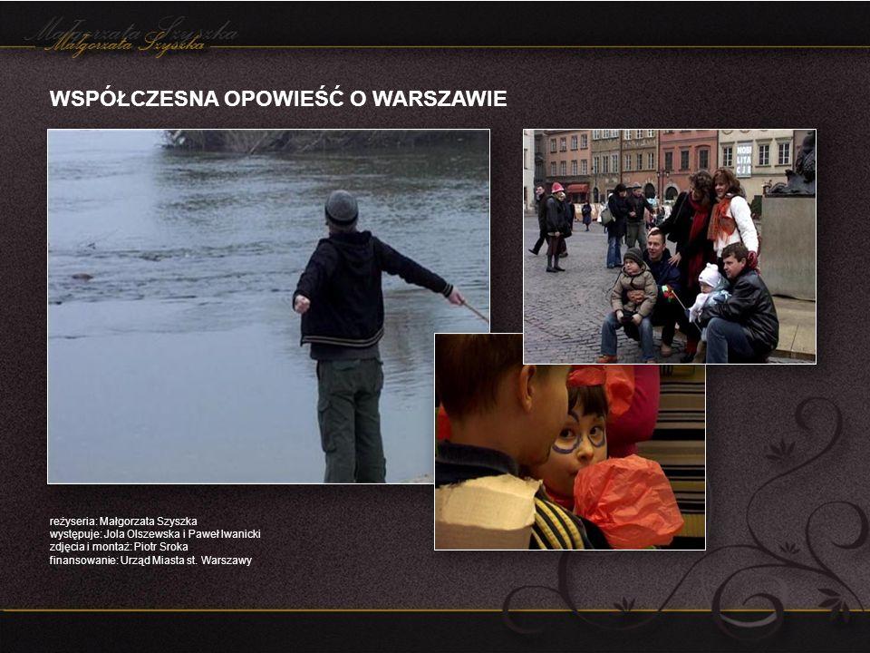 REPORTAŻ: TAK SOBIE CHODZĘ, CZYLI NASZ HYDE PARK LONDYN reżyseria: Małgorzata Szyszka zdjęcia i montaż: Piotr Sroka film z podpisami w jęz.