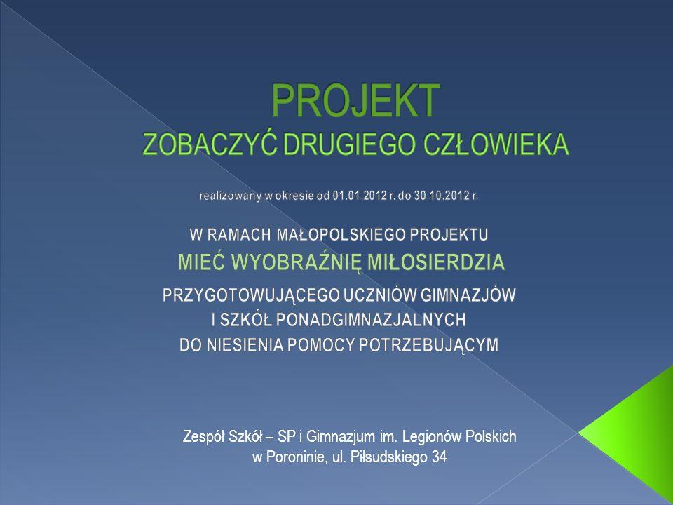Zespół Szkół – SP i Gimnazjum im. Legionów Polskich w Poroninie, ul. Piłsudskiego 34