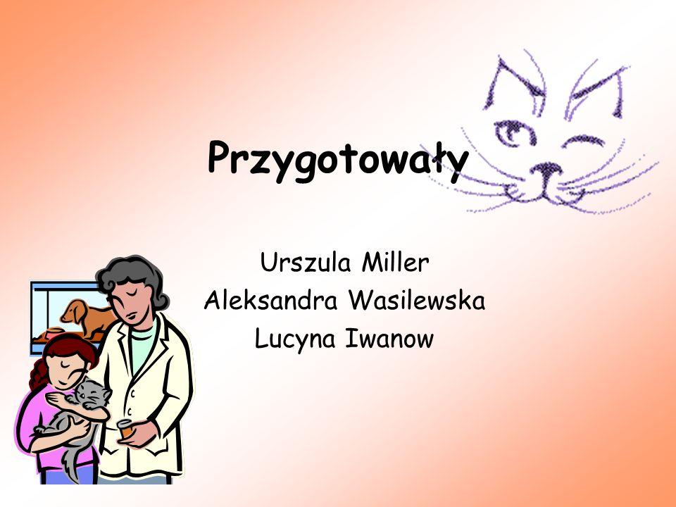 Przygotowały Urszula Miller Aleksandra Wasilewska Lucyna Iwanow