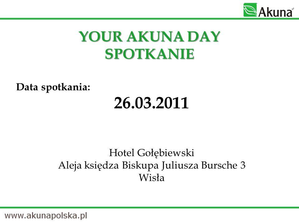 SPOTKANIE Data spotkania: 26.03.2011 Hotel Gołębiewski Aleja księdza Biskupa Juliusza Bursche 3 Wisła