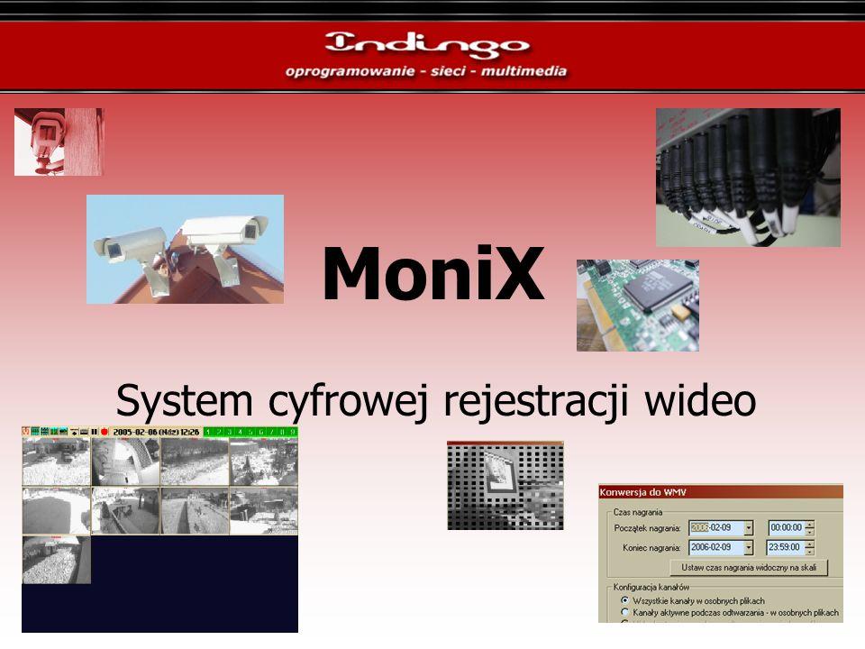 MoniX System cyfrowej rejestracji wideo