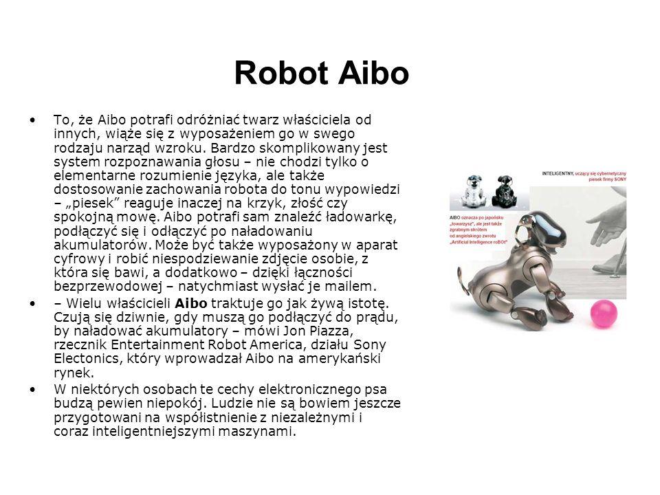 iRobi iRobi jest robotem domowym z takimi zastosowaniami jak: edukacja, pilnowanie gospodarstwa domowego, zabawianie ludzi, rozrywka i dostarczanie wiadomości.