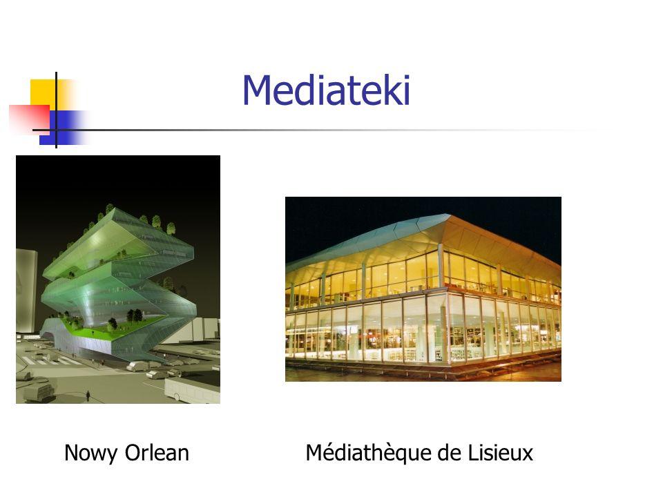 Mediateki Nowy OrleanMédiathèque de Lisieux