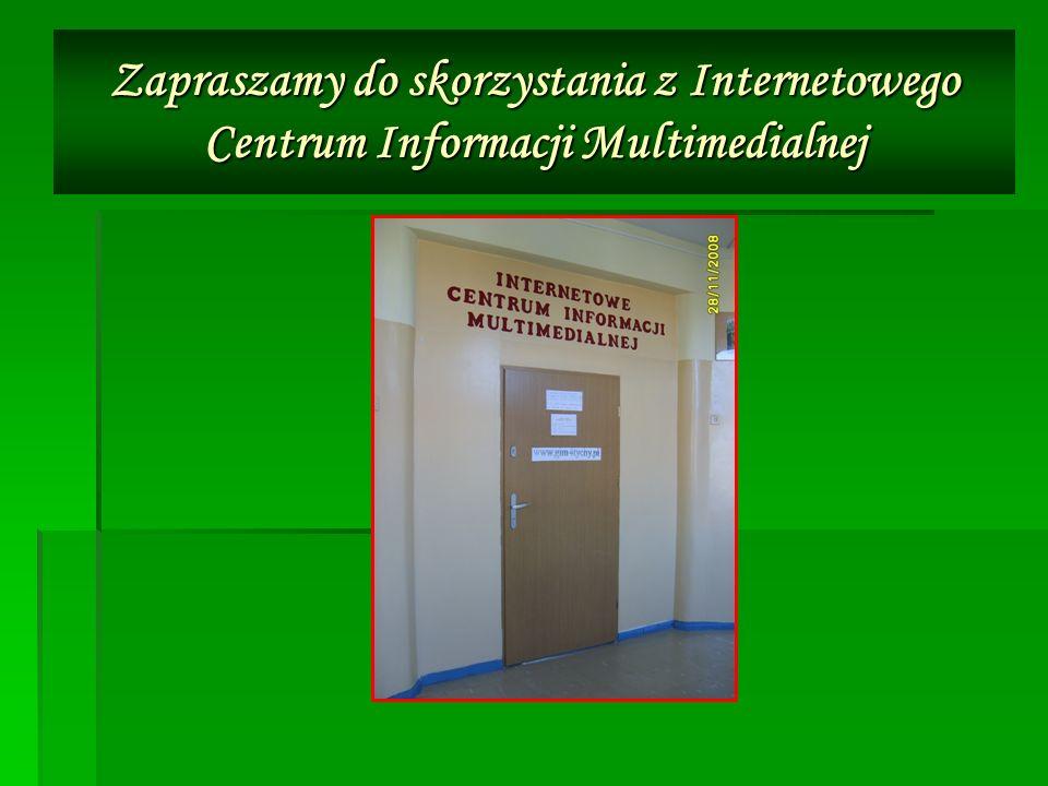 Nasza biblioteka jako szkolne centrum informacji multimedialnej służy Tobie UCZNIU UCZNIU NAUCZYCIELU NAUCZYCIELU RODZICU RODZICU ABSOLWENCIE ABSOLWENCIE PRACOWNIKU SZKOŁY PRACOWNIKU SZKOŁYWięc…