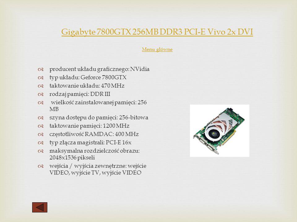 Rodzaje kart graficznych Menu główne Menu główne AGP Już podczas premiery AGP, specyfikacja dopuszczała dwie szybkości AGP - AGP1x i AGP2x. Główna róż